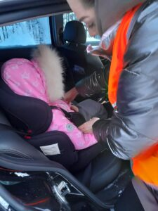 Безопасная перевозка ребенка в автомобиле